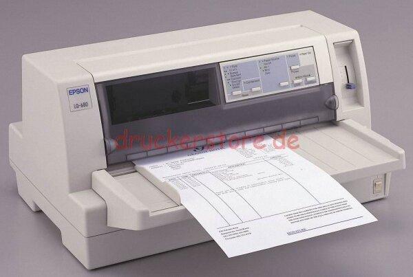 Epson LQ-680 LQ680 Arztdrucker Apothekendrucker Flachbettdrucker LPT #060