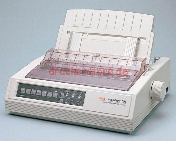 OKI Microline 590 Elite ML590E 24Pin Arztdrucker Matrixdrucker Nadeldrucker #002