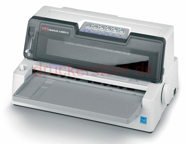OKI Microline 6300FB-SC 24Pin Nadeldrucker Flachbettdrucker Arztdrucker #034