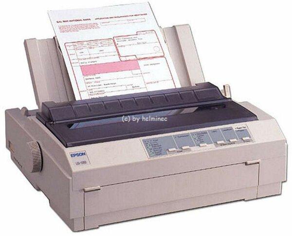 Epson LQ-580 Arztdrucker LQ580 Nadeldrucker Apothekendrucker Matrixdrucker NEU #024