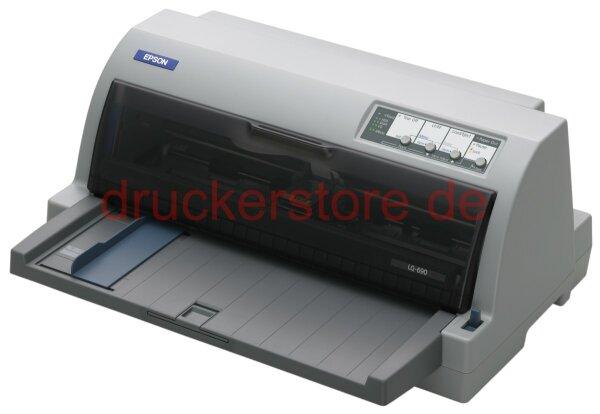 Epson LQ-690 USB LQ690 24-Nadel Flachbettdrucker Arztdrucker Rezeptdrucker #003