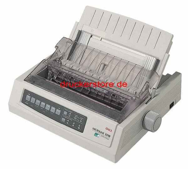 OKI Microline 3320eco USB ML3320 Apothekendrucker Matrixdrucker Arztdrucker #012