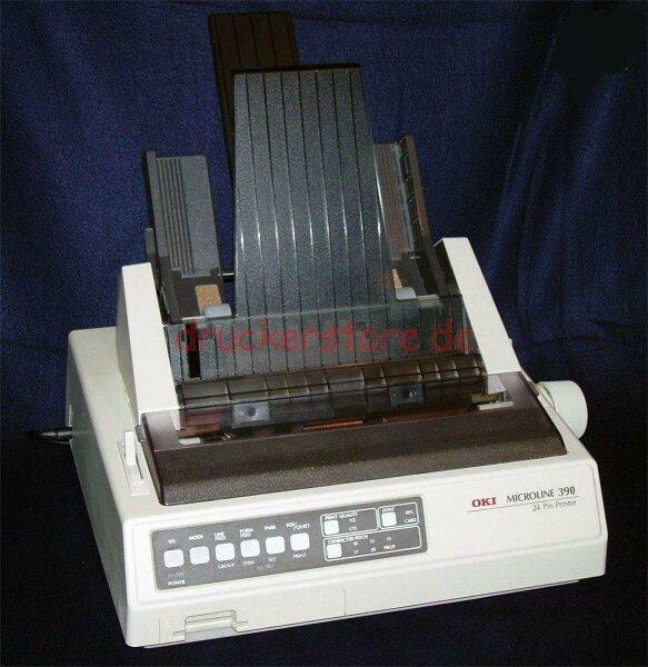OKI Microline 390 ML390 24Pin Dot Matrixdrucker Rezeptdruck Arztdrucker CSF #049