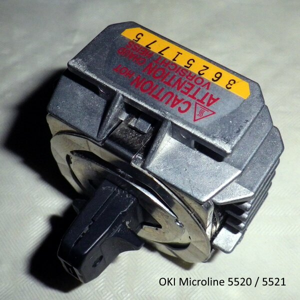 OKI Microline Printhead 9 Pin ML5520 ML5521 Druckkopf 41923901