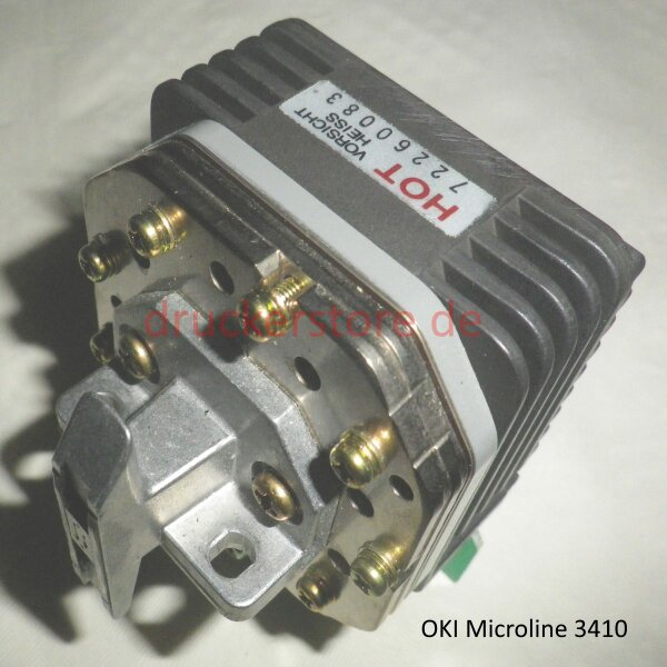 OKI Original Druckkopf Printhead 9 Pin ML3410 4YA4023-1501G001