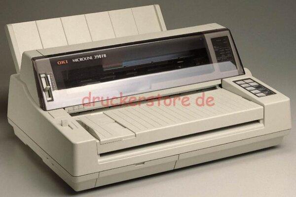 OKI Microline 390FB 24Pin Nadeldrucker Flachbettdrucker Arztdrucker neu+USB #068