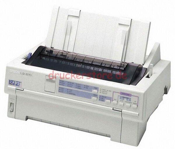 Epson LQ-870 Matrixdrucker Nadeldrucker Arztdrucker seriell+parallel #059