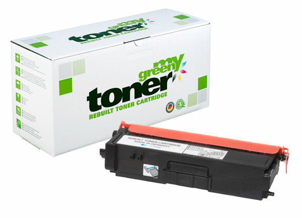 Rebuilt Toner Kartusche für: Brother TN-328C 6000 Seiten