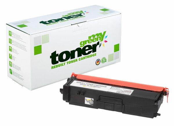 Rebuilt Toner Kartusche für: Brother TN-328Y 6000 Seiten