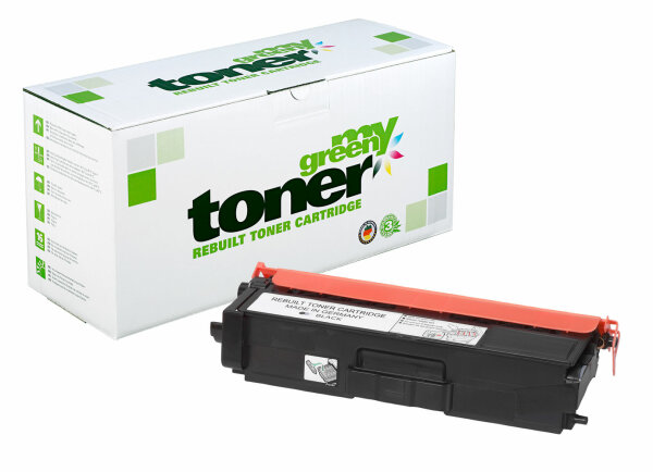 Rebuilt Toner Kartusche für: Brother TN-900BK 6000 Seiten
