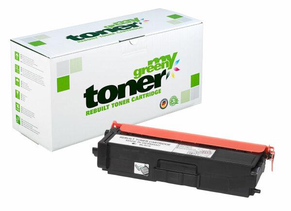 Rebuilt Toner Kartusche für: Brother TN-329BK 6000 Seiten