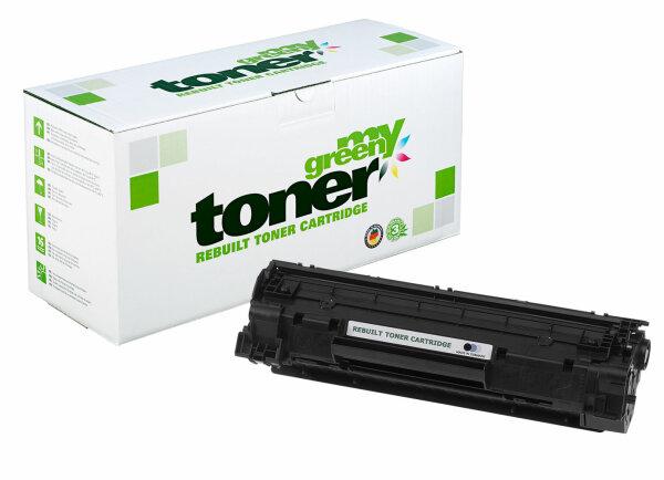 Rebuilt Toner Kartusche für: HP 712 / 1870B002 / CB435A / 35A 3000 Sei