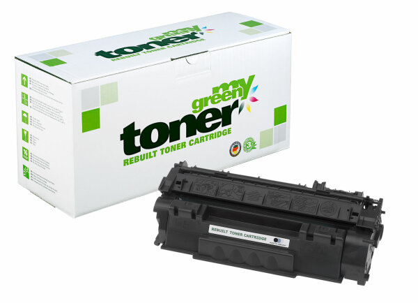 Rebuilt Toner Kartusche für: HP 708 / 0266B002 / Q5949A / 49A 2500 Sei