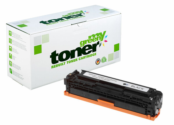 Rebuilt Toner Kartusche für: HP 716BK / 1980B002 / CB540A / 125A 2200