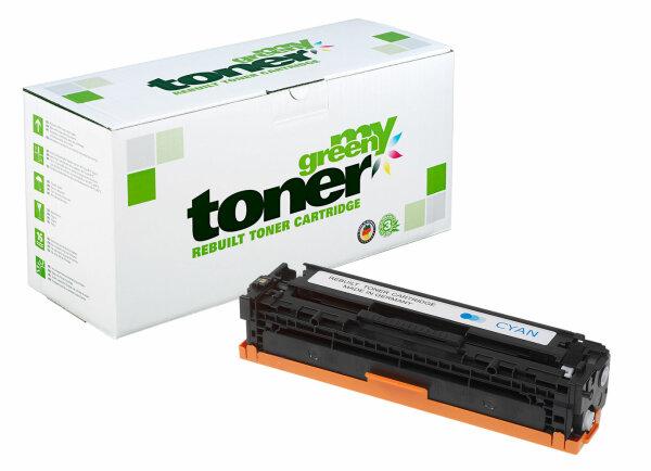 Rebuilt Toner Kartusche für: HP 716C / 1979B002 / CB541A / 125A 1400 S