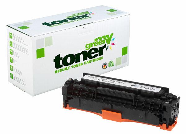 Rebuilt Toner Kartusche für: HP 718BK / 2662B002 / CC530A / 304A 3500