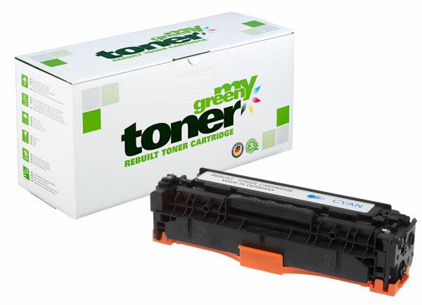 Rebuilt Toner Kartusche für: HP 718C / 2661B002 / CC531A / 304A 2800 S