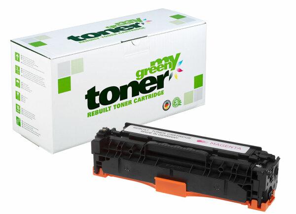 Rebuilt Toner Kartusche für: HP 718M / 2660B002 / CC533A / 304A 2800 S