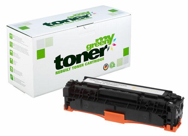 Rebuilt Toner Kartusche für: HP 718Y / 2659B002 / CC532A / 304A 2800 S