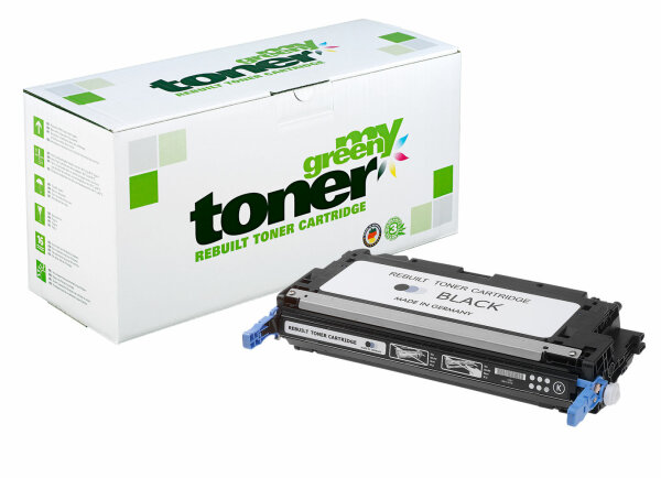 Rebuilt Toner Kartusche für: HP C-EXV 26 / 1660B002 / 711BK / Q6470A /