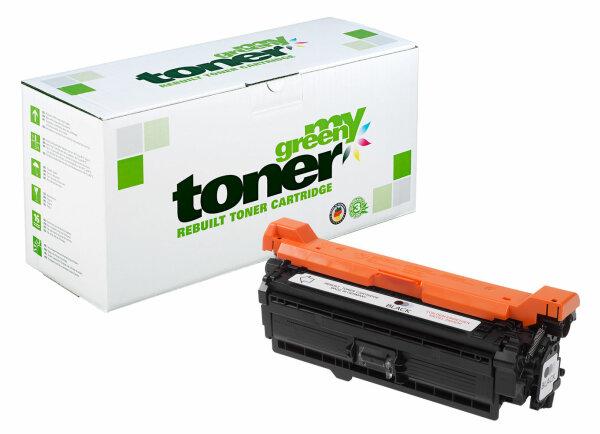 Rebuilt Toner Kartusche für: HP 723H / 2645B002 / CE250X / 504X 10500