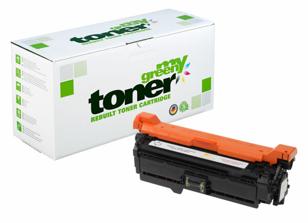 Rebuilt Toner Kartusche für: HP 723Y / 2641B002 / CE252A / 504A 7000 S