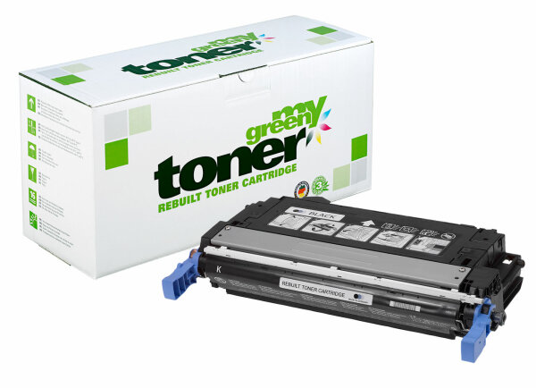 Rebuilt Toner Kartusche für: HP Q5950A / 643A 11000 Seiten