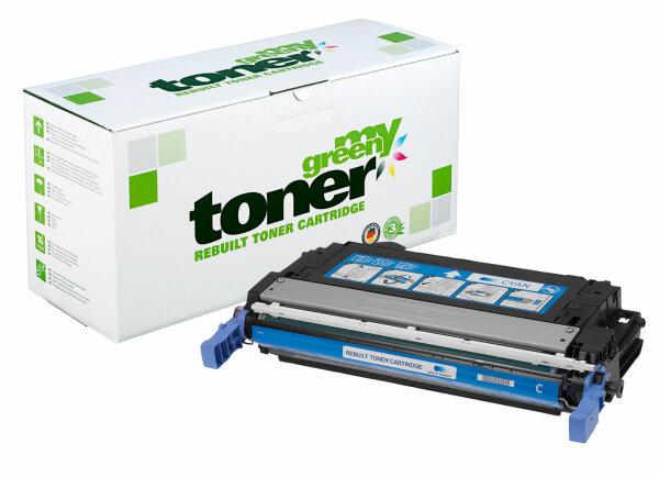 Rebuilt Toner Kartusche für: HP Q5951A / 643A 10000 Seiten