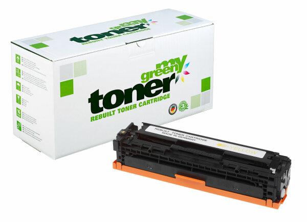 Rebuilt Toner Kartusche für: HP CE322A / 128A 1300 Seiten