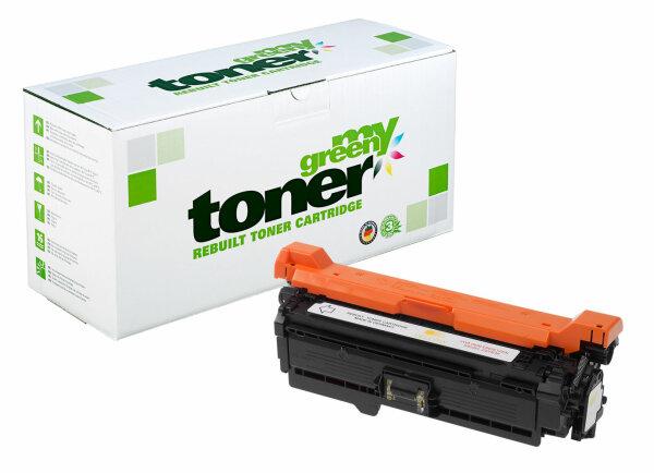 Rebuilt Toner Kartusche für: HP CE262A / 648A 11000 Seiten