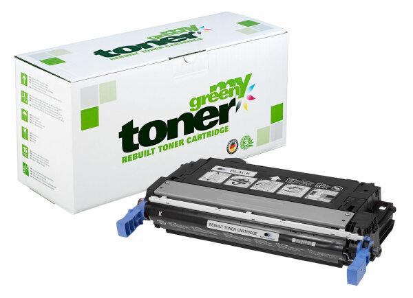 Rebuilt Toner Kartusche für: HP CB400A / 642A 7500 Seiten