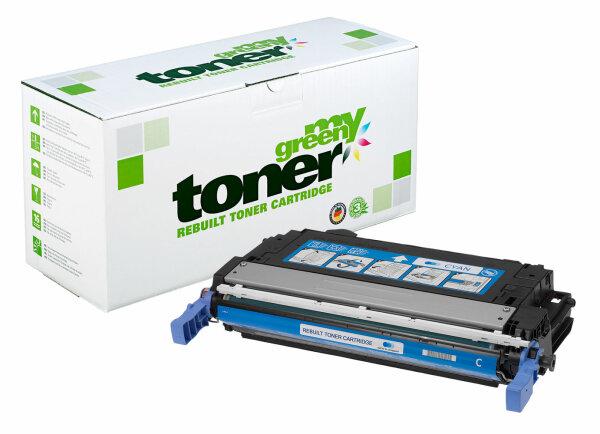 Rebuilt Toner Kartusche für: HP CB401A / 642A 7500 Seiten
