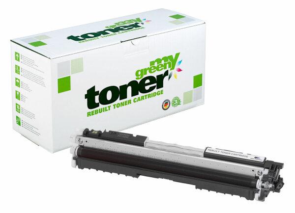 Rebuilt Toner Kartusche für: HP 729BK / 4370B002 / CE310A / 126A 1200