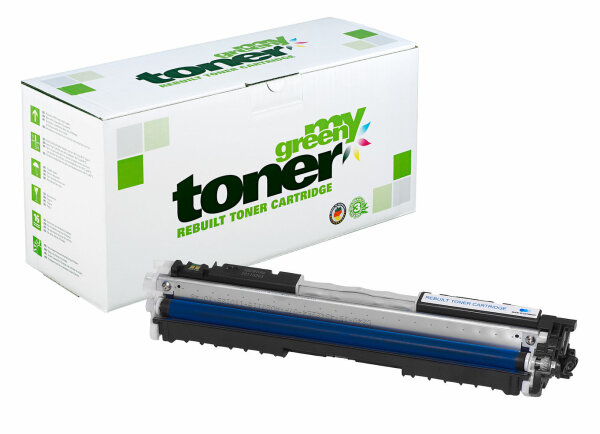 Rebuilt Toner Kartusche für: HP 729C / 4369B002 / CE311A / 126A 1000 S