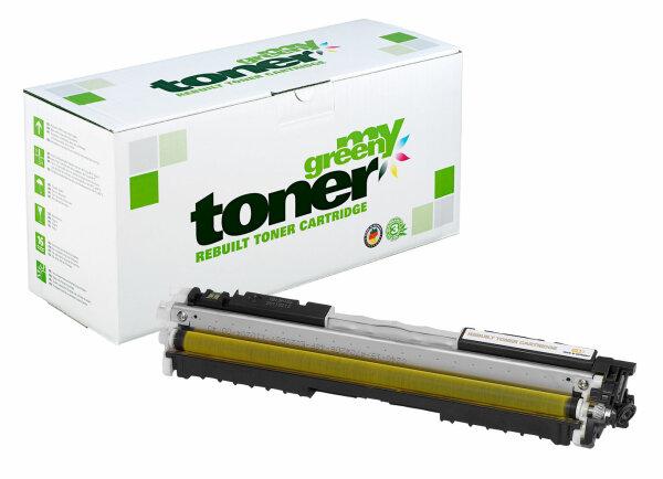 Rebuilt Toner Kartusche für: HP 729Y / 4367B002 / CE312A / 126A 1000 S
