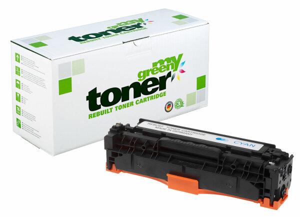 Rebuilt Toner Kartusche für: HP CE411A / 305A 2600 Seiten