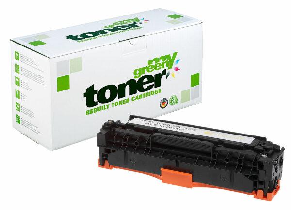 Rebuilt Toner Kartusche für: HP CE412A / 305A 2600 Seiten