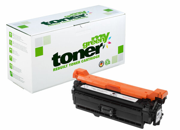 Rebuilt Toner Kartusche für: HP CE400X / 507X 11000 Seiten