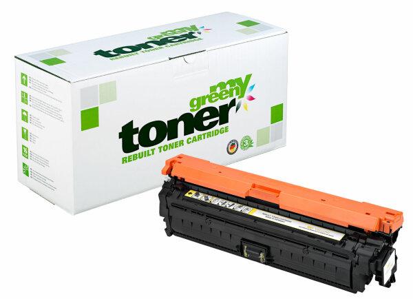 Rebuilt Toner Kartusche für: HP CE272A / 650A 15000 Seiten