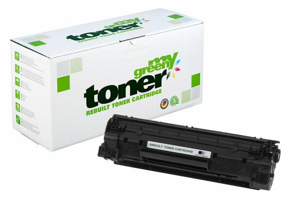Rebuilt Toner Kartusche für: HP 726 / 3483B002 / CE278A / 78A 2100 Sei