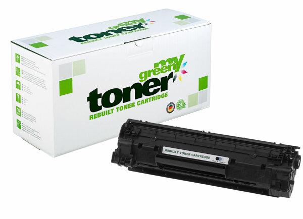 Rebuilt Toner Kartusche für: HP 713 / 1871B002 / CB436A / 36A 2000 Sei