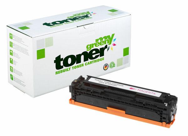 Rebuilt Toner Kartusche für: HP 731M / 6270B002 / CF213A / 131A 1800 S