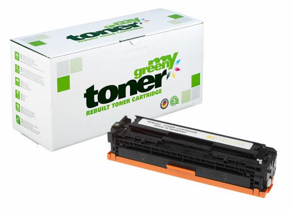 Rebuilt Toner Kartusche für: HP 731Y / 6269B002 / CF212A / 131A 1800 S