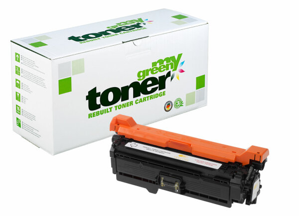 Rebuilt Toner Kartusche für: HP CF032A / 646A 12500 Seiten