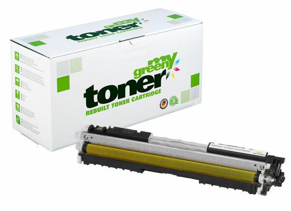 Rebuilt Toner Kartusche für: HP CF352A / 130A 1000 Seiten