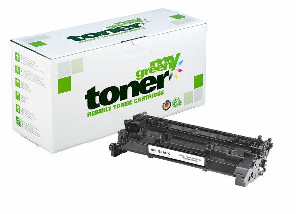 Rebuilt Toner Kartusche für: HP CF226A / 26A / 052 / 2199C002 3100 Sei