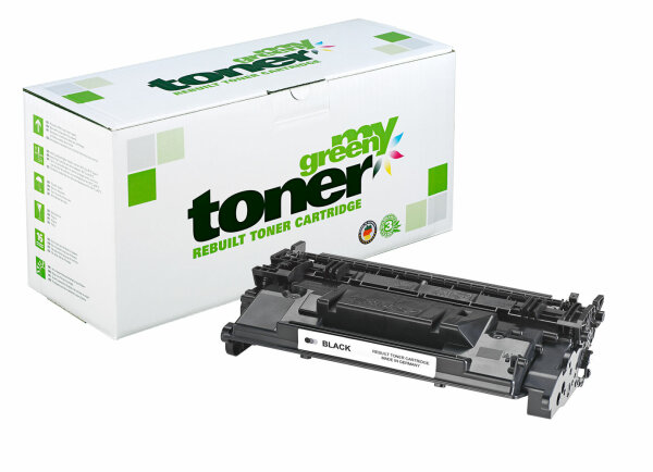 Rebuilt Toner Kartusche für: HP CF287A / 87A / 041 / 0452C002 9000 Sei