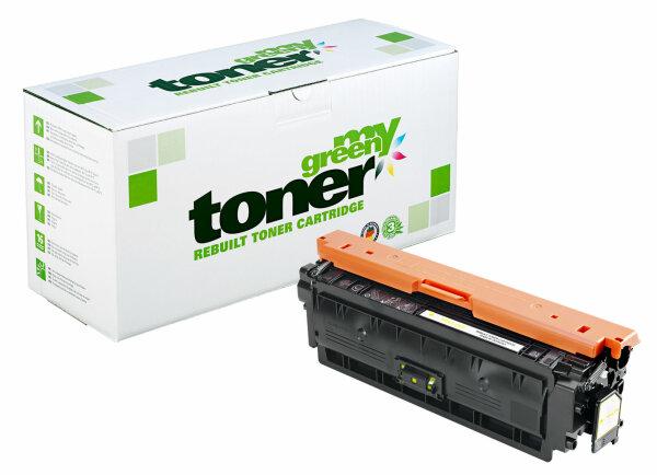 Rebuilt Toner Kartusche für: HP CF362X / 508X 9500 Seiten