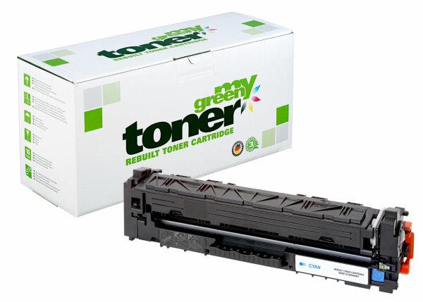 Rebuilt Toner Kartusche für: HP CF401X / 201X / 045H / 1245C002 2300 S