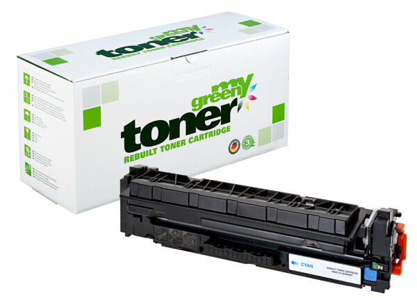 Rebuilt Toner Kartusche für: HP CF411X / 410X / 046H / 1253C002 5000 S